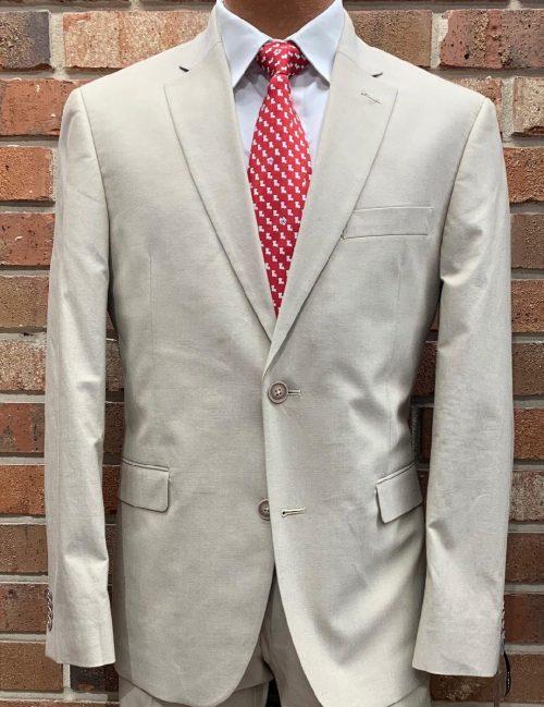 Tommy Hilfiger Khaki Chambray Suits