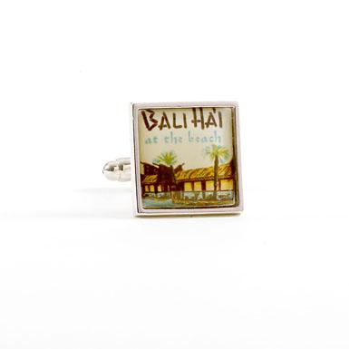 Bali Hai Stamp Cufflinks