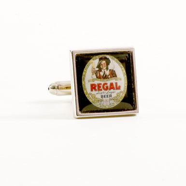 Regal Beer Cufflinks