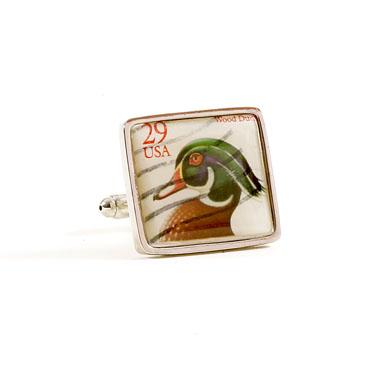 Wood Duck Stamp Cufflinks