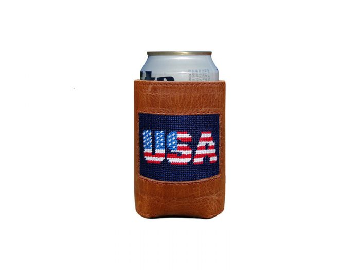 Patriotic USA Can Cooler