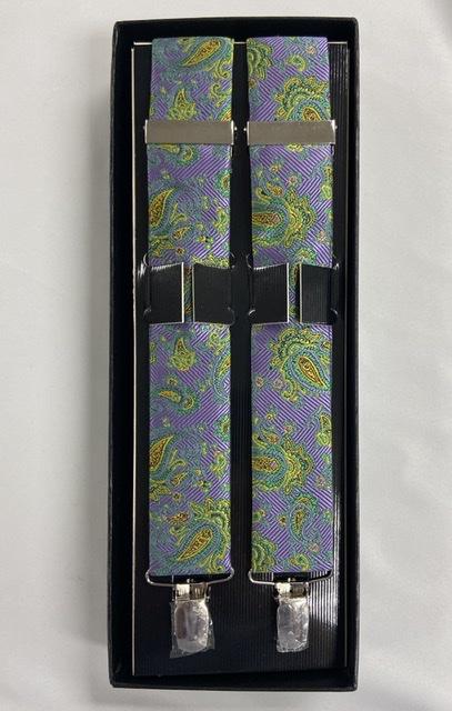 Mardi Gras Strom Suspenders