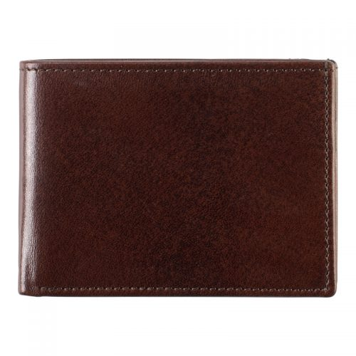 Johnston & Murphy Mahogany Bi-Fold Wallet
