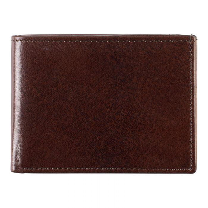 Johnston & Murphy Mahogany Bi-Fold Wallet