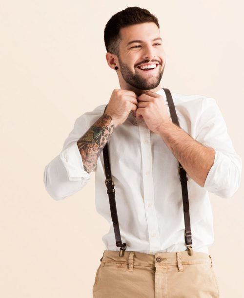 Chestnut Suspenders