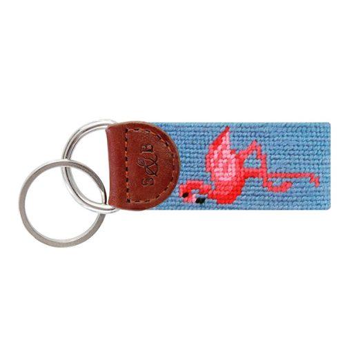 Smathers & Bransin Flamingo Key Fob