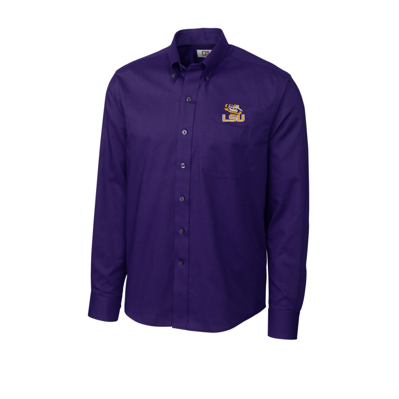 Cutter & Buck Purple LSU Long Sleeve