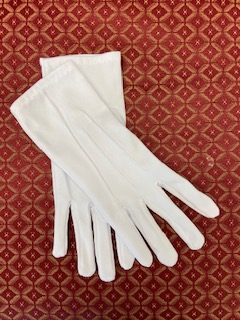 White Nylon Glove
