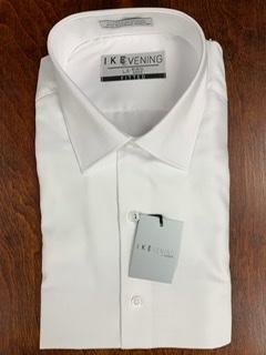 Ike Behar White Dress Shirt