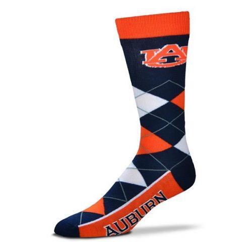 Auburn Argyle Socks