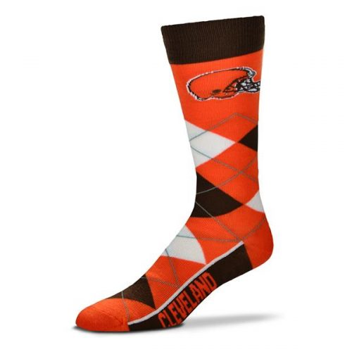 Cleveland Browns Argyle Socks