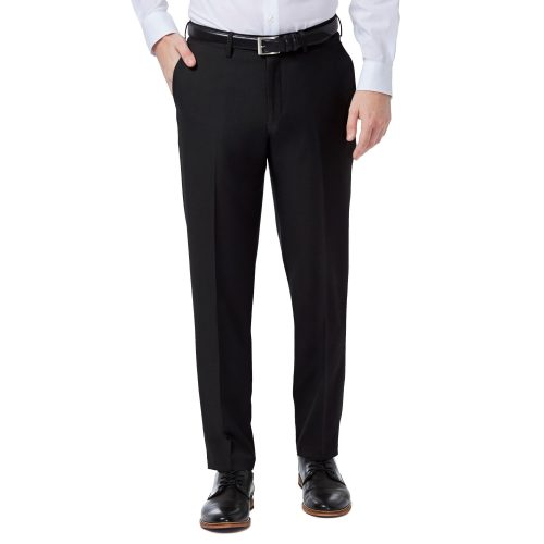 Haggar Premiuim Comfort Black Slim Fit Pant