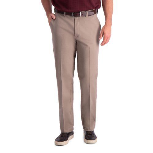 Haggar Premium Comfort Khaki Classic Fit Pant