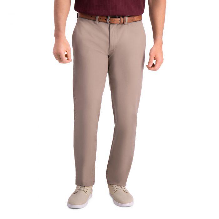 Haggar Premium Comfort Khaki Slim Fit Pant