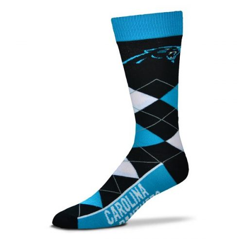 Caroline Panthers Argyle Socks