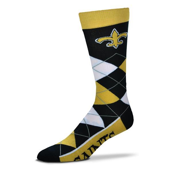 Saints Argyle Sock
