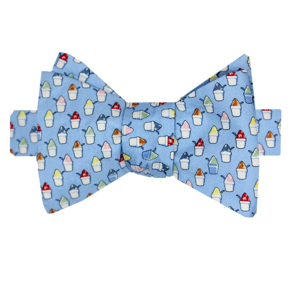 Snoball Gulf Blue Bow Tie