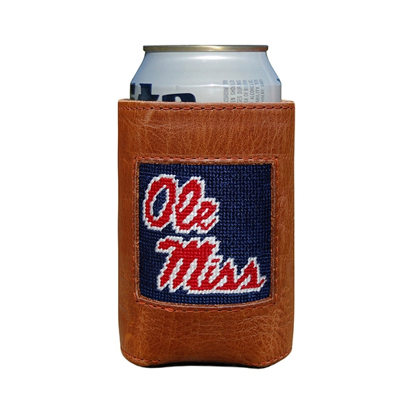 Ole Miss Can Cooler (Navy)